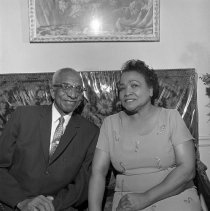 Image of Reverend Welford P. Carter and His Wife Blanche Carter - 1964