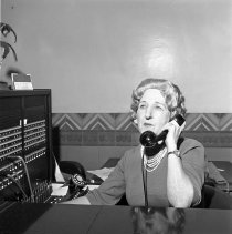 Image of City Hall Switchboard Operator - 1965/04/14