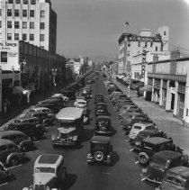 Image of Fourth Street in Santa Monica - 1938