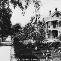 Image of Fourth Street in Santa Monica - 1890