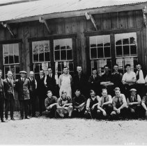 Image of Douglas Aircraft Company Employees Group Portrait - undated