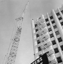 Image of Raising of the Citizens Bank Sign - 1965/01/27