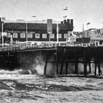 Image of Storm at Santa Monica Pier - 1984/12/17