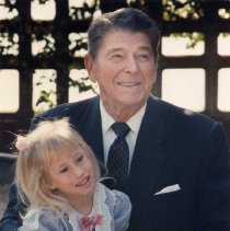 Image of President Ronald Reagan - undated