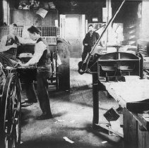 Image of Outlook Newspaper Print Shop - undated