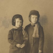 Image of Young Farquhar Boys, John and Colin - undated