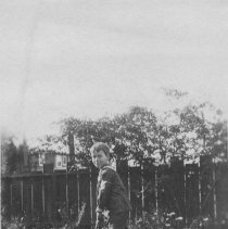 Image of John P. Farquhar Playing Croquet - undated
