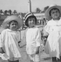 Image of Colin Farquhar as a Boy with Two Girls - undated