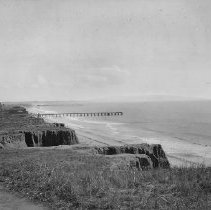 Image of Palisades Park Looking South toward Arcadia Hotel - undated