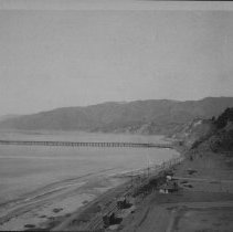 Image of Long Wharf, North of Palisades Park - undated
