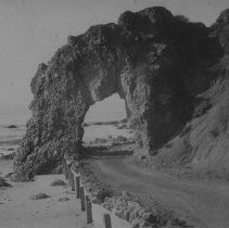 Image of Arch Rock, Pacific Coast Highway - circa 1890
