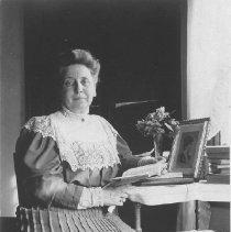 Image of Georgina Jones, Seated Indoors - undated