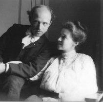 Image of Pablo Casals (Cellist) and Marion Jones Farquhar - undated
