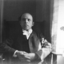 Image of Cellist Pablo Casals at New York Apartment of Marion Jones and Robert D. Farquhar - undated