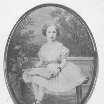 Image of Portrait of Georgina Sullivan Jones as a Child - 1862