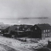Image of Early Beach Homes in Santa Monica - undated