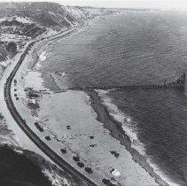 Image of Pacific Coast Highway near Malibu  - undated