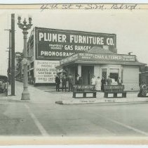 Image of Tegner Insurance and Plumer Furniture, early 1900s in Santa Monica - early 1900s