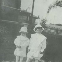Image of Children Dressed for Sunday School, early 1900s - early 1900s