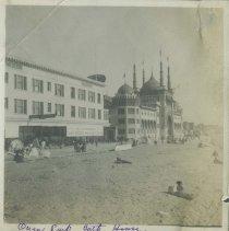 Image of Ocean Park Bath House - early 1900s