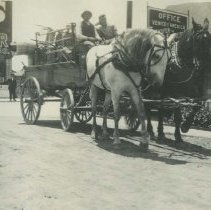 Image of Venice of America Transfer and Express Company - early 1900s