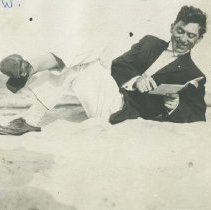 Image of William Watson at the Beach - early 1900s