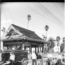 Image of Demolition of Pacific Electric Station, Venice - undated