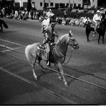Image of Sheriff Eugene Biscailuz , Elks Parade in Santa Monica, 1935 - 1935/09/28