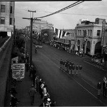 Image of Elks Convention Parade in Santa Monica, 1935 Elks Convention Parade in Santa Monica  - 1935/09/28