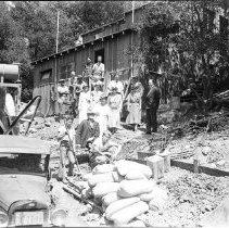 Image of Girl Scouts Cabin in Topanga Canyon - 1935/05/07