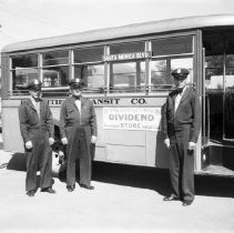 Image of Bay Cities Transit Company Employees - 1936