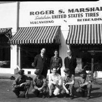 Image of Roger S. Marshall Tire Distributor - 1935
