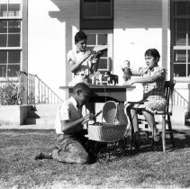 Image of Studens at Garfield Elementary School - 1935/12/17