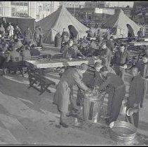 Image of WWII Ocean Park Encampment, 144th Field Artillery Brigade - 1941/02/03