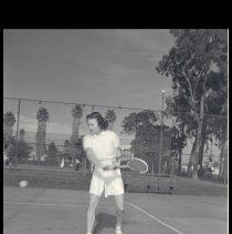 Image of Tennis Star Gertrude Moran - 1940/02/18
