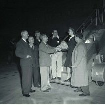 Image of First Airmail from Los Angeles Airport - 1946/12/09