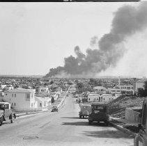 Image of Oil Tank Fire in Venice - 1940/11/22
