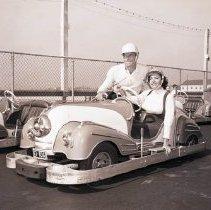 Image of Bumper Car Ride at Ocean Park Pier, 1956 - 1956