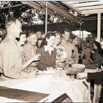Image of Social Group at the USO Center at the Miramar Hotel - 1942/06/07