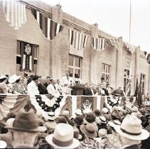 Image of Dedication of Santa Monica Post Office, 1938 - 1938/07/23