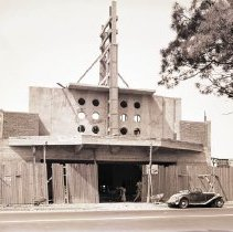 "Image of ""Bundy"" Theater Construction, 1941 - 1941/07/21"