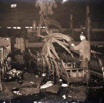 Image of Fire at Casino Gardens Ballroom on Ocean Park Pier, 1943 - 1943/11/05
