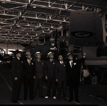 Image of Pontiac Executives at Douglas Aircraft Company, 1941 - 1941/06/13