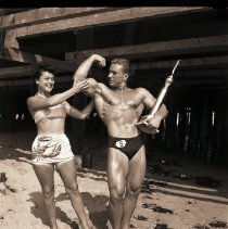 Image of Malcolm Brenner, Mr. Muscle Beach 1949 - 1949/04/07