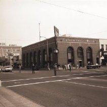 Image of Buglers on Veterans' Day, Santa Monica Boulevard - 1962/11/10
