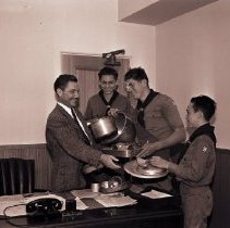 Image of Boy Scouts Contributing to the Aluminum Drive, 1941 - 1941/07/14