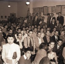 Image of Retail Clerks Union Meeting, 1942 - 1942/06/26