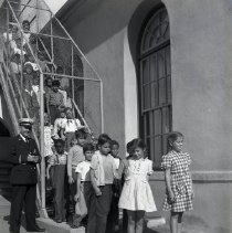 Image of Fire Prevention Week at McKinley School, 1946 - 1946/10/03