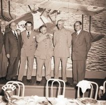 Image of Anniversary of First Around-the-World Flight, 1949 - 1949/09/23