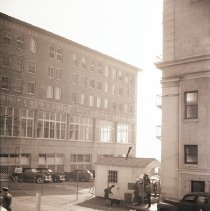 Image of Military Restricted Area on Ocean Avenue, 1945 - 1945/01/16